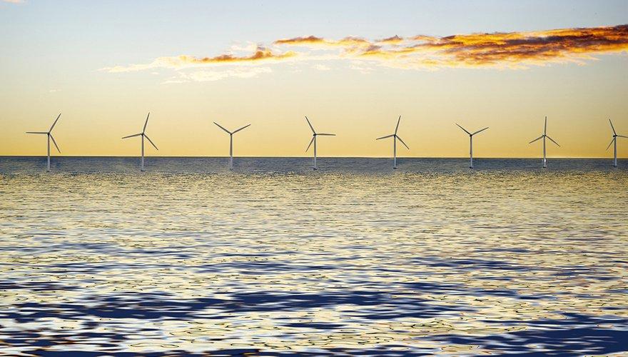 Windpark op zee / Pixabay