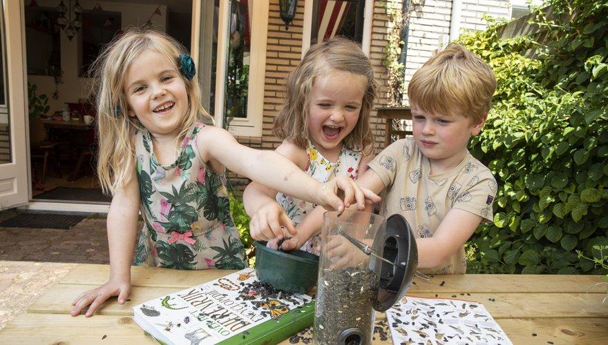 Voer silo tuin kinderen / Fred van Diem