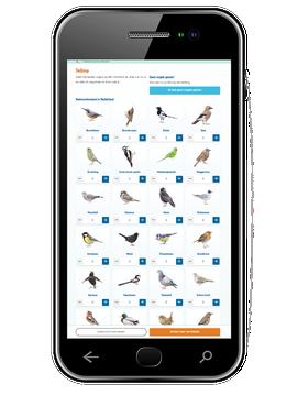 wep-app MijnTuinvogeltelling