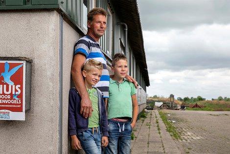 Weidevogelboer Willem Courtz / Fred van Diem