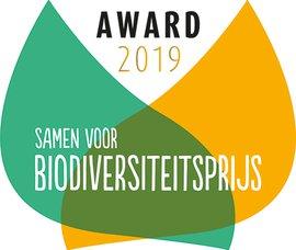 Logo Award Samen voor Biodiversiteitsprijs