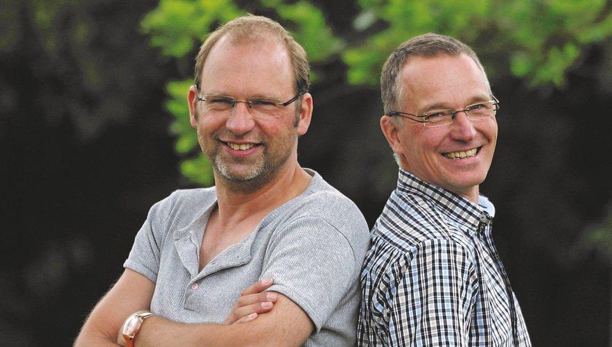 Harvey van Diek en Jouke Altenburg