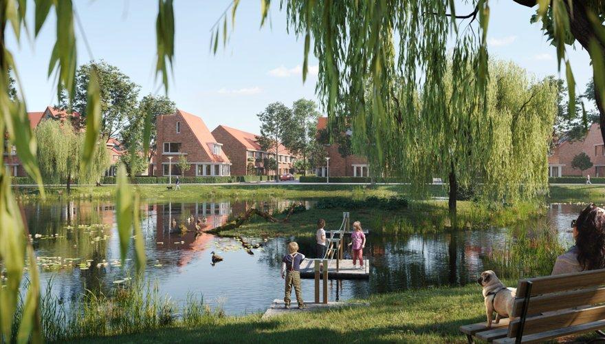 Tuinbuurt Vrijlandt Rotterdam / Ballast Nedam Development
