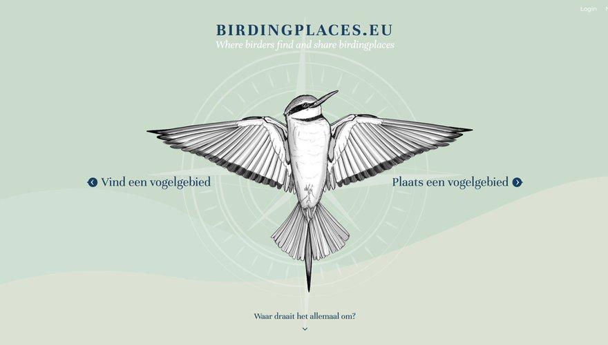 Homepage Birdingplaces EU
