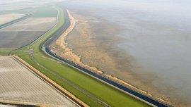 Luchtfoto Westhoek / Joop van Houdt - Rijkswaterstaat