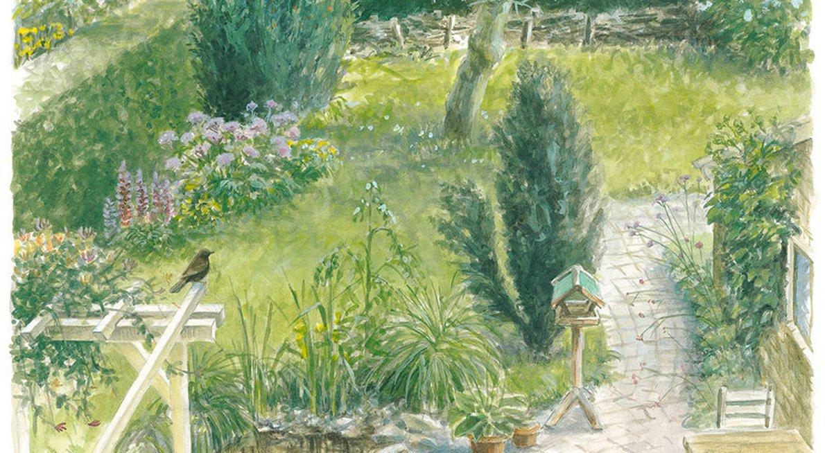Grote tuin / Elwin van der Kolk