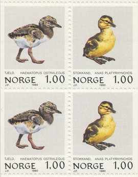 Postzegels Norge