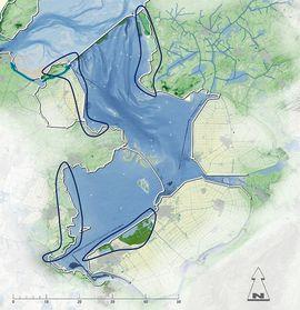 Kaart IJsselmeer