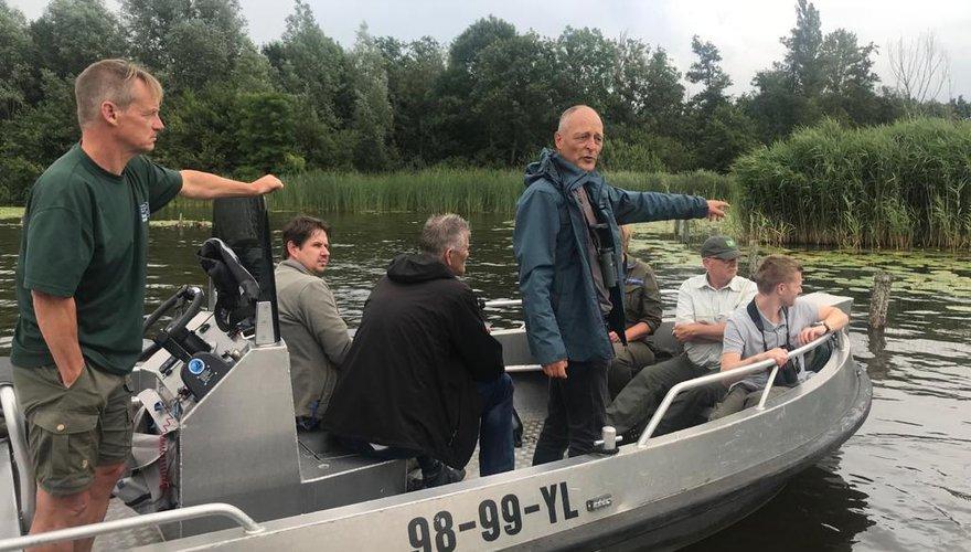 Excursie grote karekiet Loosdrechtse Plassen / Nico Korporaal