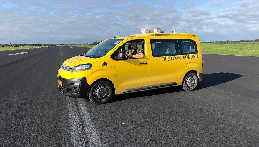 Auto van Vogelwacht / Tialda Hoogeveen