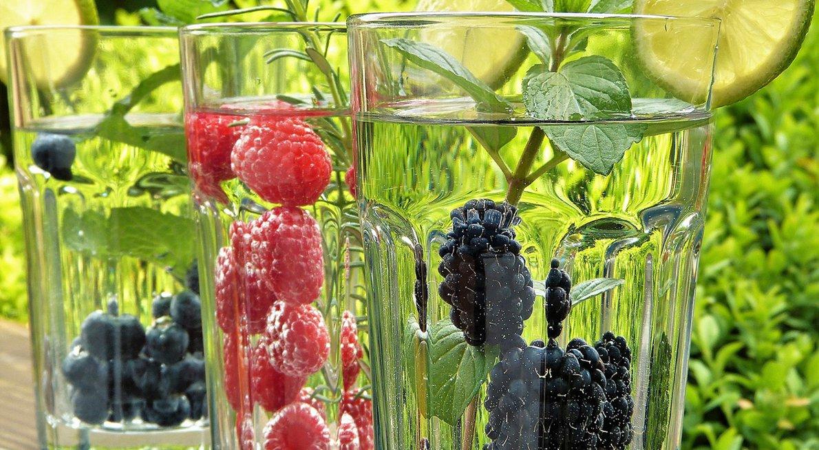 Water met fruit / Pixabay