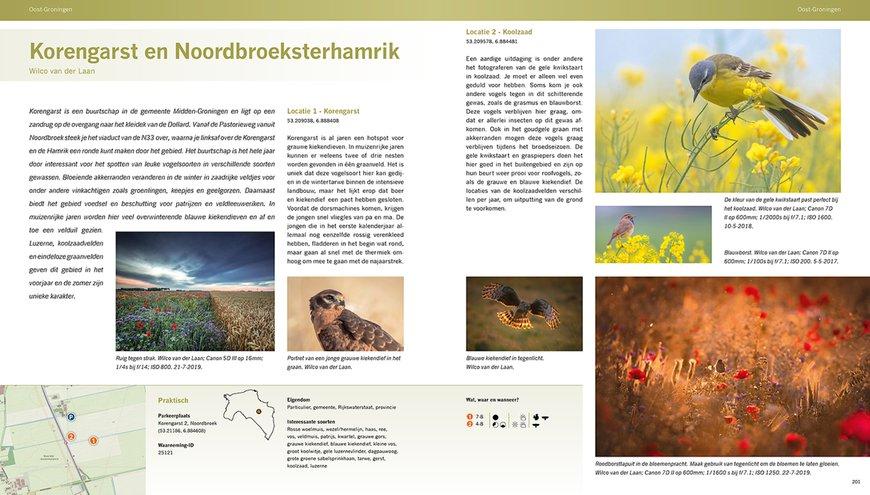 Spread boek Mooiste fotolocaties Noord Nederland