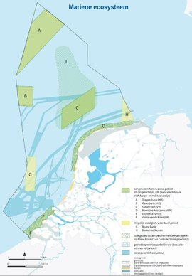 Natura-2000 gebieden Noordzee