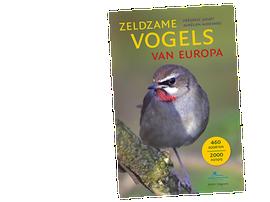 Cover boek Zeldzame Vogels van Europa