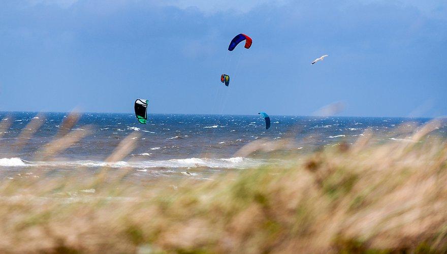 Kitesurften / Shutterstock