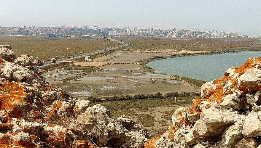 Marokko zoutpannen / Jaime Garcia Moreno