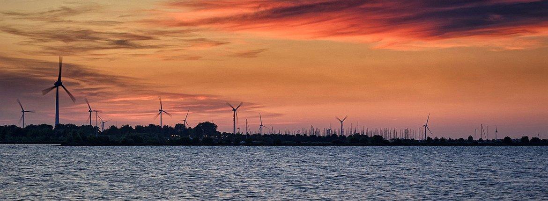 Windmolens IJsselmeer / Pixabay