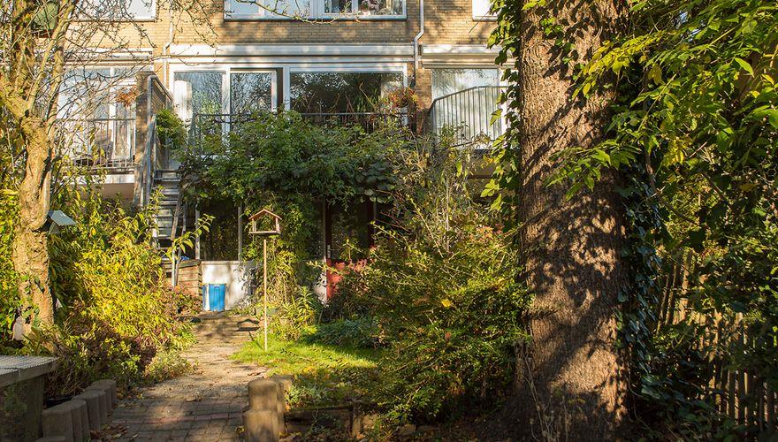 Tuin met woning van familie Davidse / Hans Peeters