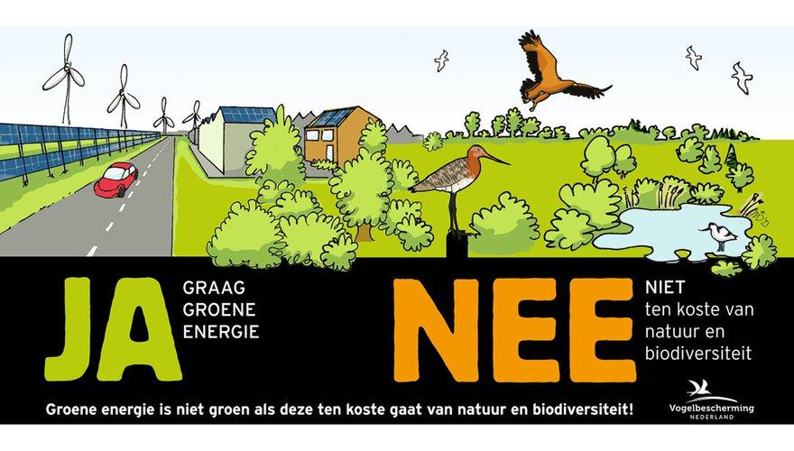 Ja / Nee sticker energietransitie