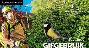 Factsheets stadsvogels Gifgebruik in tuinen