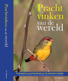 Cover Prachtvinken van de wereld