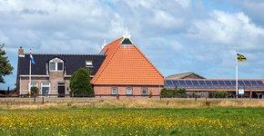 Boerderij van weidevogelboeren Bob en Ankie Blokker / Fred van Diem