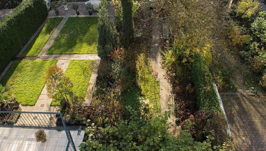 Tuin familie Davidse van bovenaf / Hans Peeters
