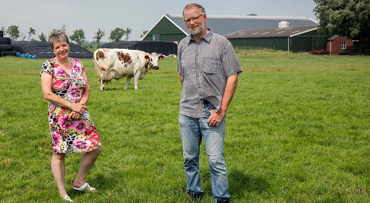 Hannie en Gerrit Smelt / Fred van Diem