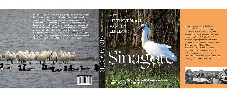 Cover boek over lepelaar Sinagote