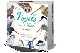 Cover boek Vogels van de Wadden