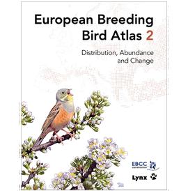 Cover European Breeding Bird Atlas 2
