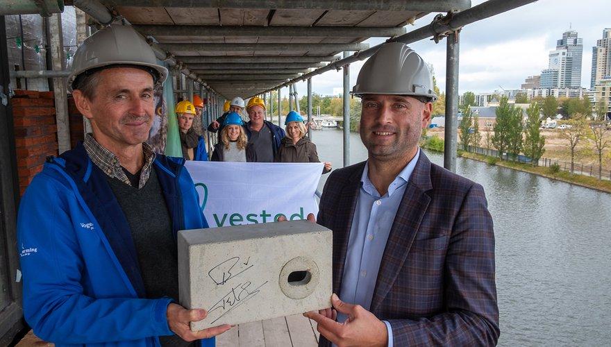 Fred Wouters en Gertjan van der Baan (Vesteda)