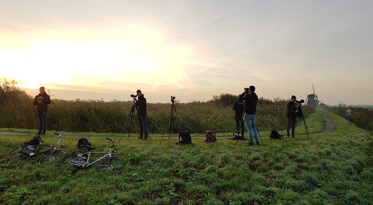 Telpost Kinderdijk / Bastiaan van de Wetering