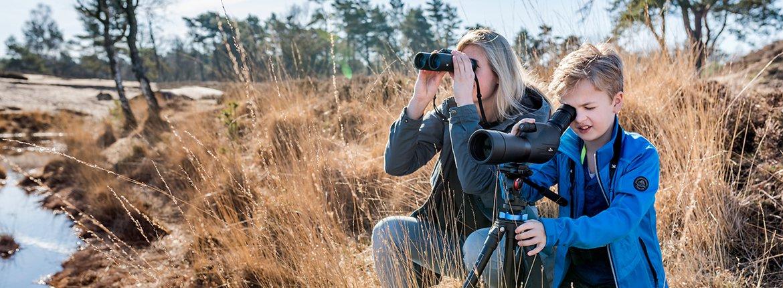 Vogels kijken met optiek van Vogelbescherming / Ron Steemers