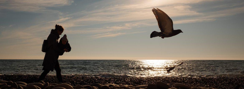 Wandelen  zee / Shutterstock