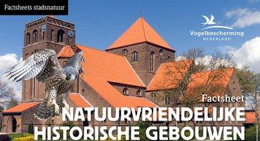 Factsheets stadsvogels Natuurvriendelijke Historische Gebouwen
