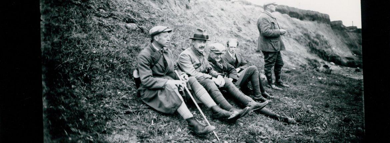 Deelnemers vogelexcursie omstreeks 1920 / Natuurmonumenten