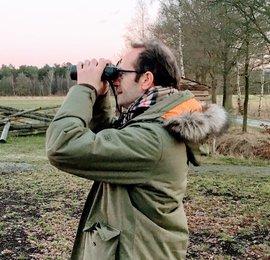 Rene Janssen, excursieleider Vogelbescherming en Vogelweek