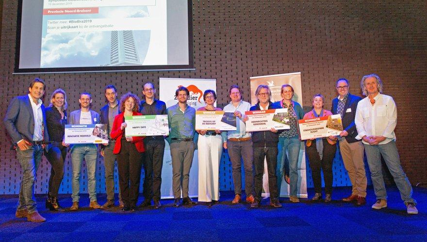 winnaars en genomineerden Award Natuurinclusief Bouwen 2019