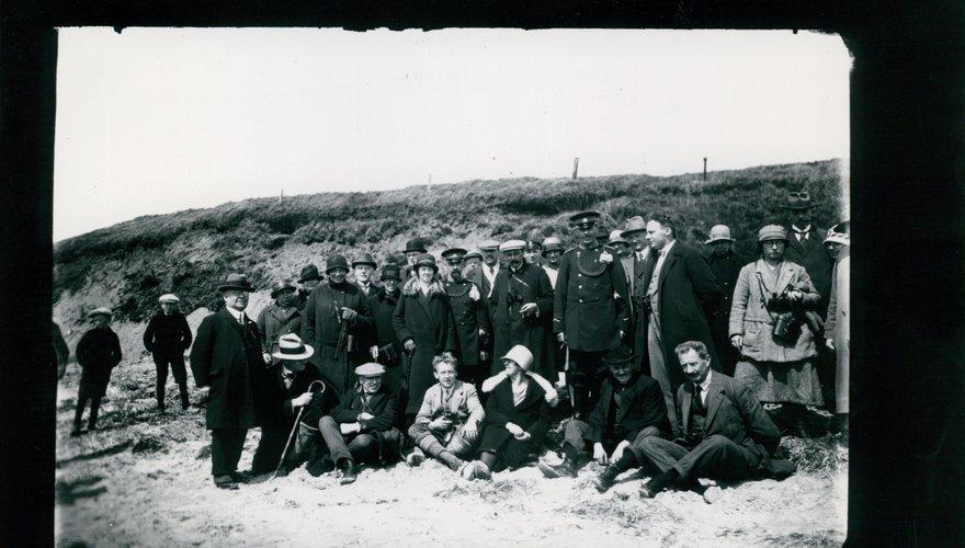 Vogelexcursie omstreeks 1920 / Natuurmonumenten