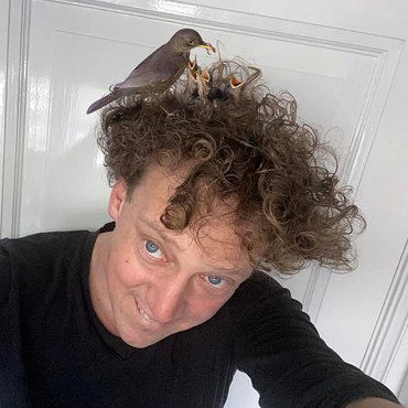 Selfie Jochem Myjer met dank aan Maurice van Berkel