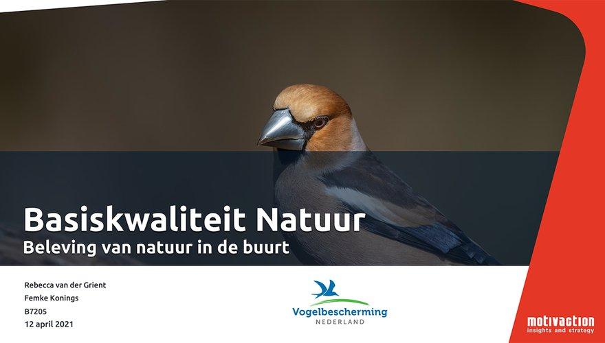 Rapportage Basiskwaliteit Natuur Omnibus
